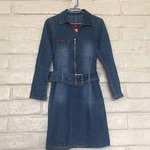Hattie Denim Dress - Mid Vintage